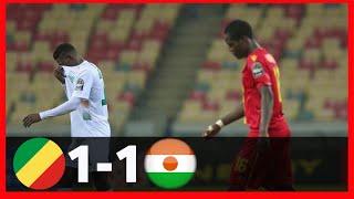 CONGO VS NIGER(1-1)CHAN 2021-GOALS&HIGHLIGHTS