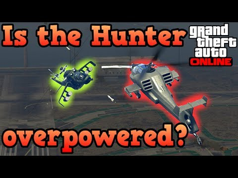 Hunter VS all the other helicopters! - GTA Online epic battles