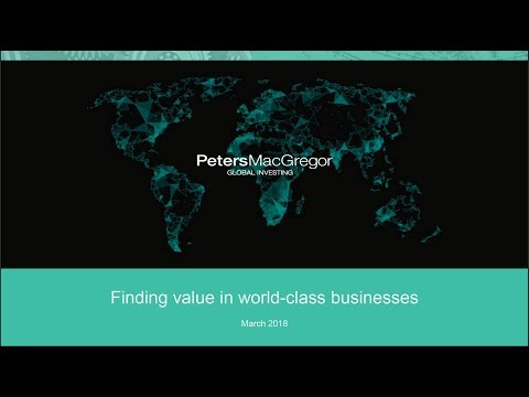 Peters MacGregor Investment Update - March 2018