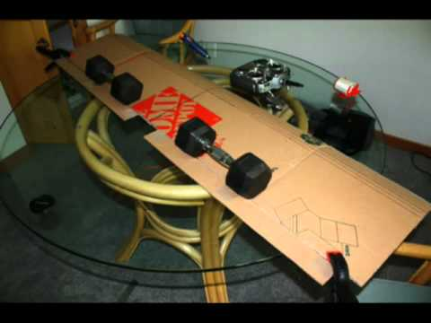 how to make a rc plane with cardboard pdf