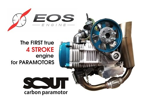 Is this the best paramotor engine ever? The first true four stroke alternative!