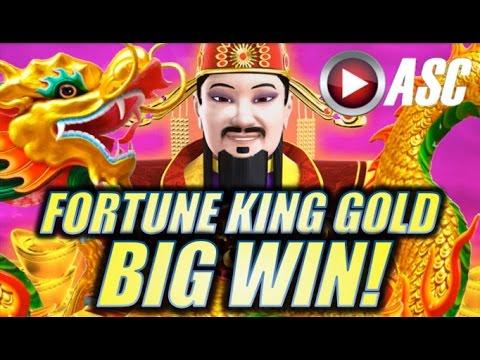 ★BIG WIN!★ FORTUNE KING GOLD & 5 DRAGONS GOLD (Aristocrat) | Slot Machine Bonus
