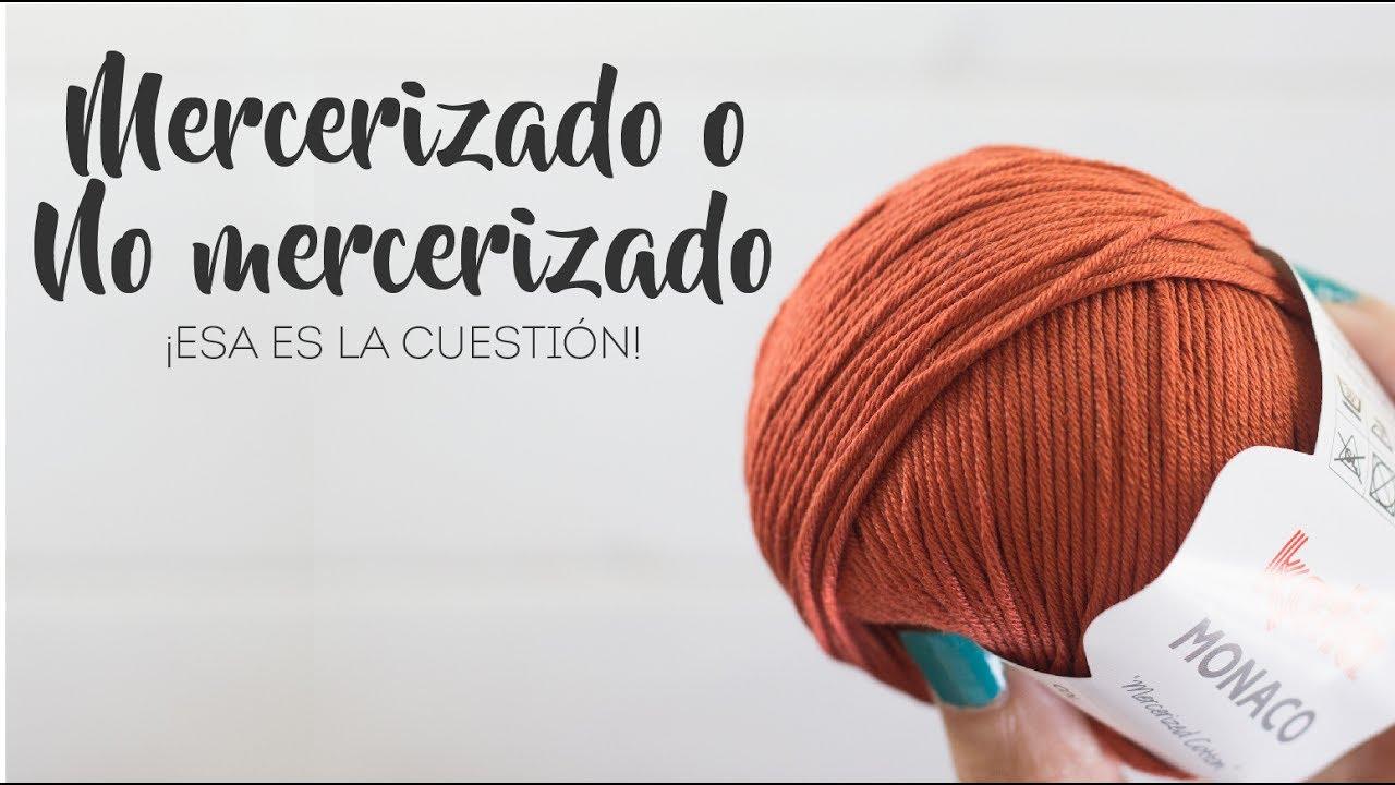 Tipos de hilo para crochet y amigurumi  ¿Hilo Mercerizado o No Mercerizado  46086fc3a80