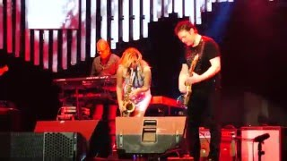 Candy Dulfer performing Medley Pick Up The Pieces & Sax A Go Go at Java Jazz Festival 2016