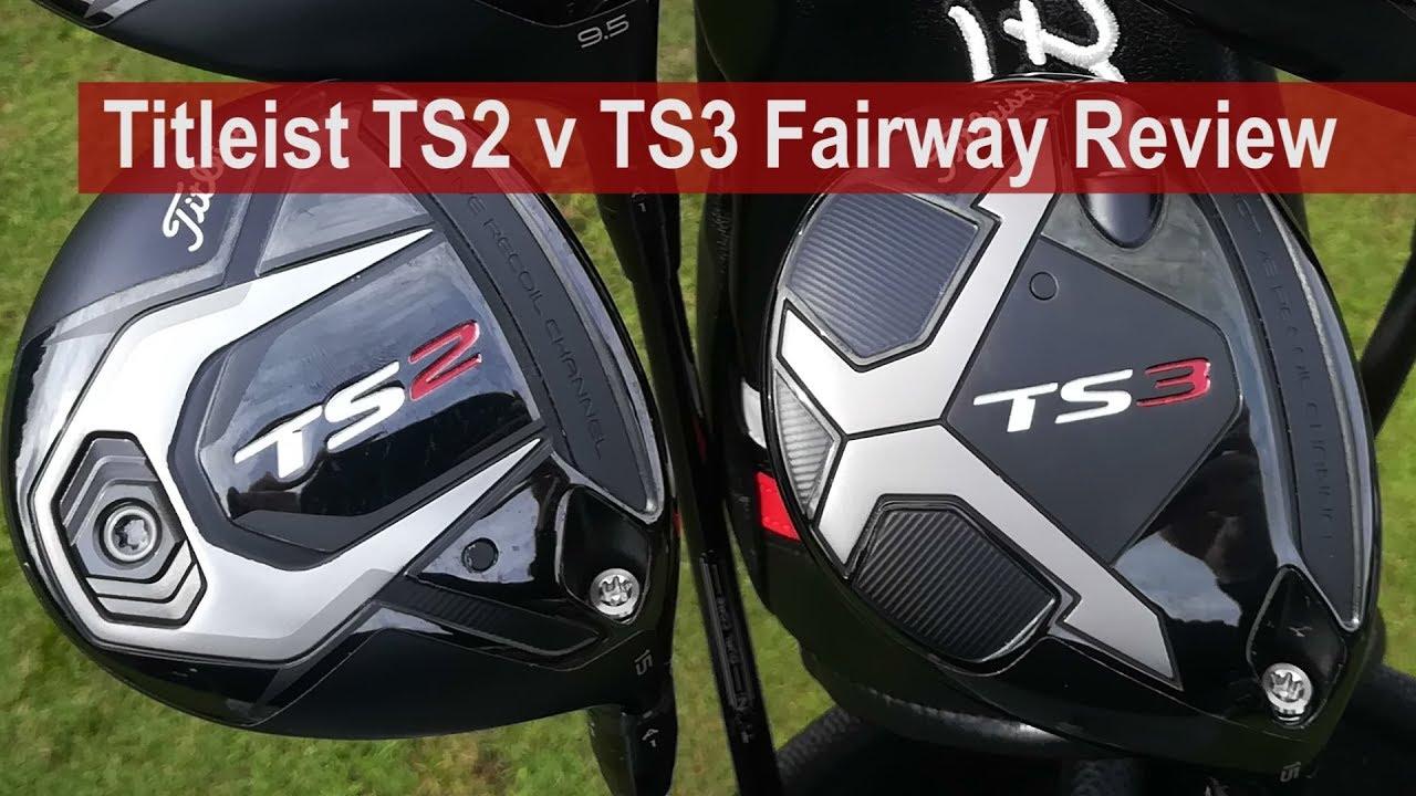 Titleist TS2 v TS3 v 917F Fairway Review by Golfalot