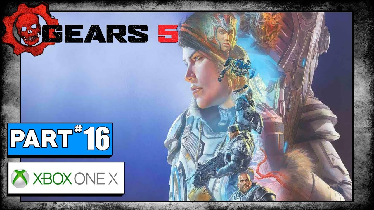Gears 5 Playthrough - Act 3 - Chapter 3 - Train Turntable and Bridge  Control House