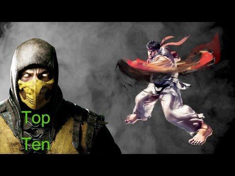 Top Ten Video Game Martial Artists