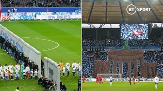 Hertha Berlin's incredible display for 30th anniversary of Berlin Wall collapse