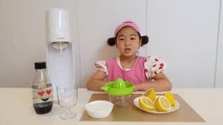레몬탄산수 만들기!