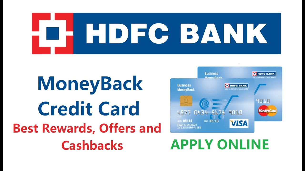 how to apply for credit card in hdfc bank
