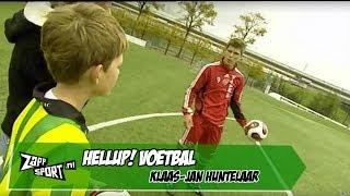 HELLUP! Voetbal met Klaas Jan Huntelaar | ZAPPSPORT