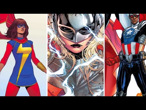 THE FEMINIST SJW A MISCONCEPTION OF DIVERSITY IN MARVEL & DC COMIC BOOKS :