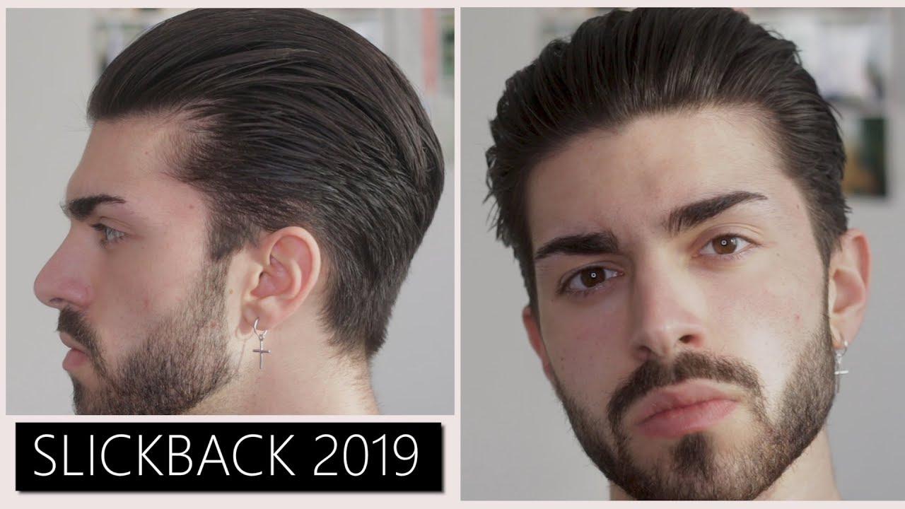 Men S Slickback Tutorial 2019 Giveaway Youtube