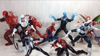 Marvel Legends Amazing Spider Man 2 Infinite Series Green Goblin BAF Toy Review
