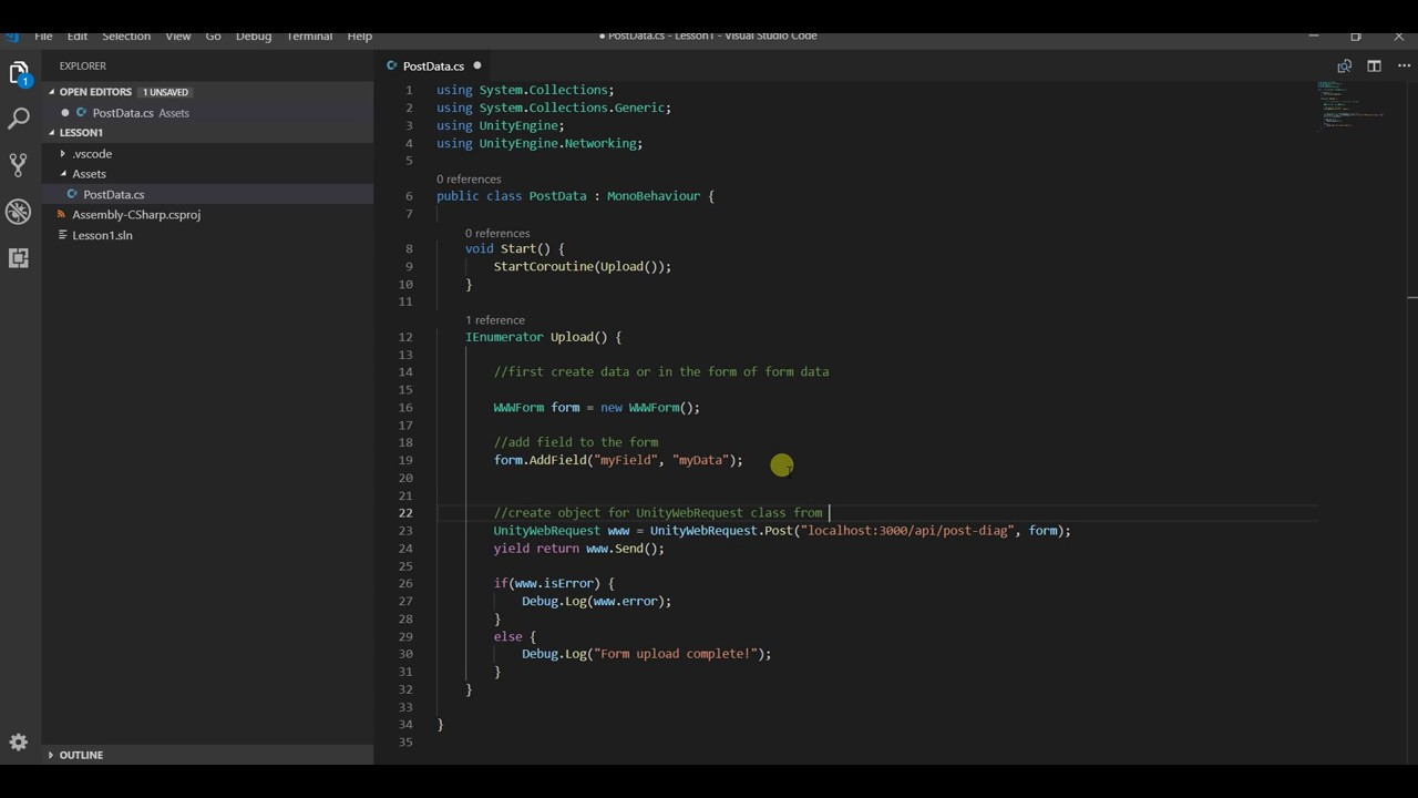 Unitywebrequest download json