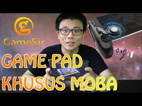 UNBOXING - GAMESIR F1 (INDONESIA) | Game Pad Joy Stick Khusus Mobile Legend MOBA