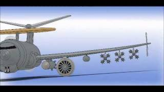 767 Aircraft in SolidWorks 2011