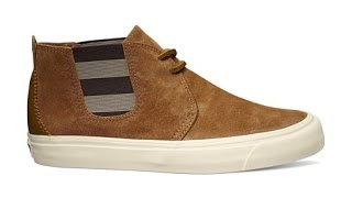 Shoe Review: Vans Vault x Taka Hayashi 'Suede' TH Chukka Gore LX (Dark Camel)