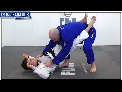 Opening Closed Guard Knee Post Method by John Danaher