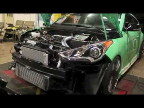 Tuning Fox Marketing 2013 SEMA Hyundai Veloster Turbo