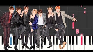 BTS - Don't Leave Me (SLOW EASY PIANO TUTORIAL)