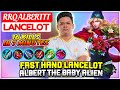 - Fast Hand Lancelot, Albert The Baby Alien  RRQ Alberttt Lancelot  Mobile Legends