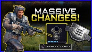 How to Repair Armor + Map & Audio Adjustments! (Massive Blackout Patch)