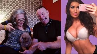 PARENTS REACT TO DAUGHTERS INSTAGRAM COMMENTS/PICS