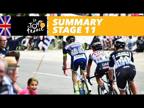 Summary - Stage 11 - Tour de France 2017