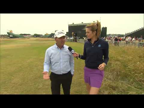 Thomas Levet on his past experiences at Muirfield