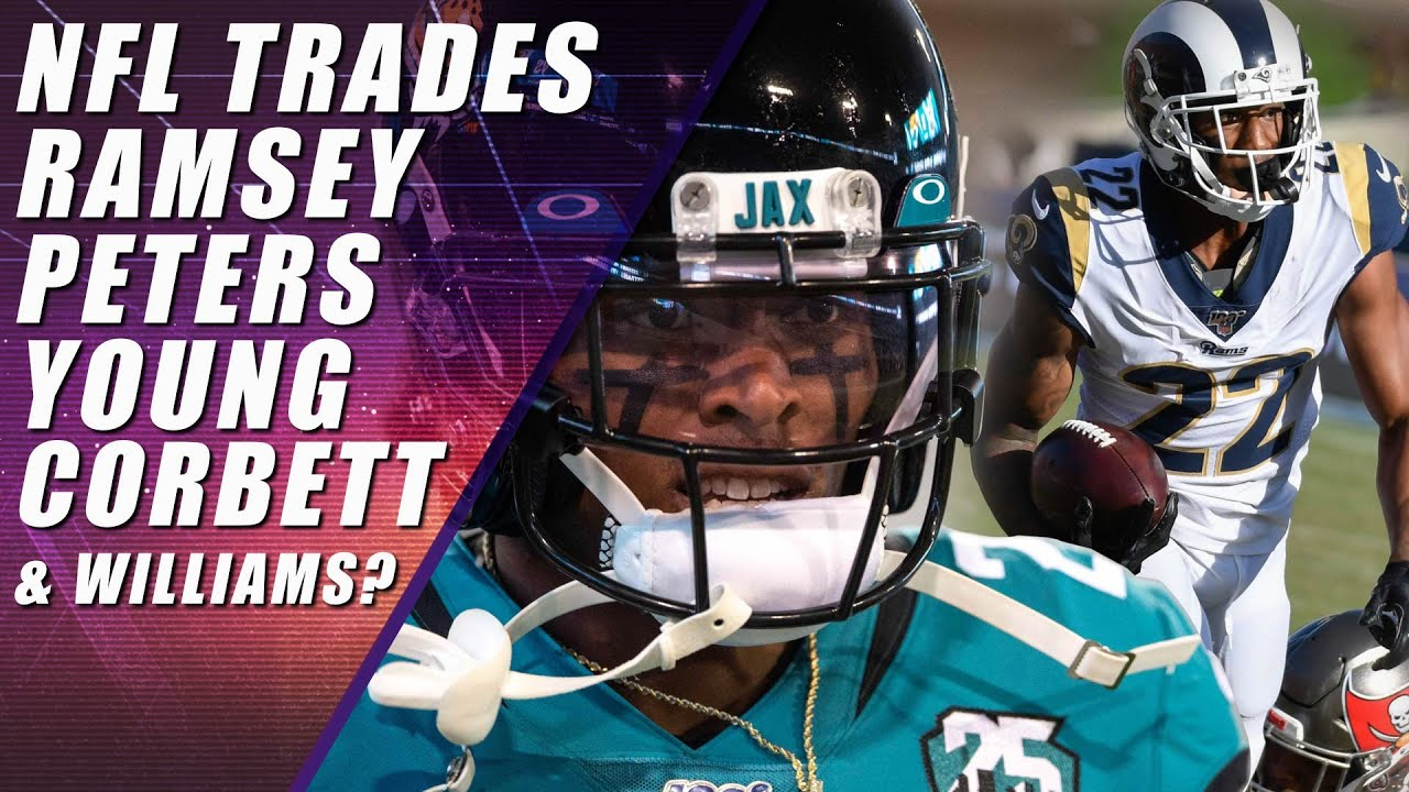 Jaguars send Jalen Ramsey to Rams for pair of 1st-rounders