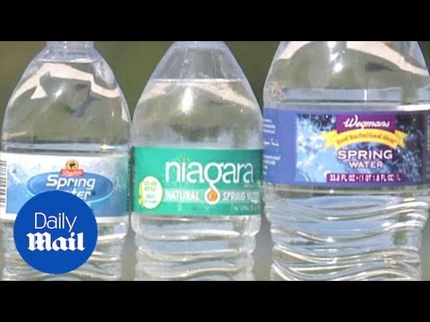 Niagara Bottling has recalled 14 brands of bottled water Daily Mail