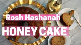 The BEST Honey Cake Recipe for Rosh Hashanah!