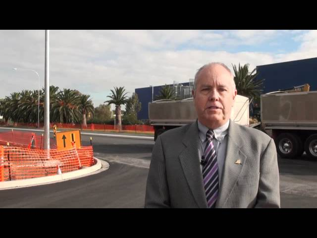 Road Changes at Adelaide Airport-Control Tower-Radar Upgrade