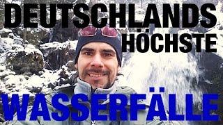 Deutschlands höchste Wasserfälle (Triberg-Schwarzwald) | Wanderfalke