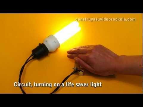 automatic night light youtubeWiring Diagram On Led Night Light Lamp Circuit Gif #19