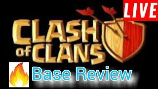 COC Live Stream    |  Join Base Review  |