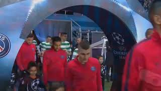 обзор матча ПСЖ 7:1 Селтик (Лига чемпионов 2017-18)