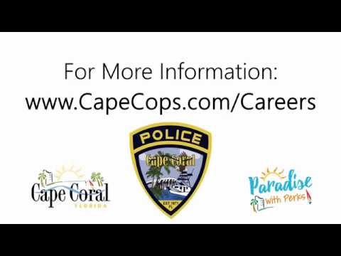 Communications Careers — Cape Coral Police Department