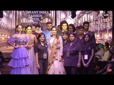 #CityLive - VIBRANT INDIA FASHION WEEK - HEIGHTS fashion institute