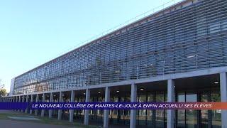Yvelines | Le nouveau collège de Mantes-la-Jolie a enfin accueilli ses élèves