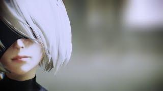 【MMD NieR Automata】 2B   Pink Cat  【J&JさんEditモデル・ケミリアさんステージ】
