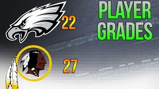 Everett Can Get These Fists - Full Eagles Grades from 27-22 LOSS vs Redskins - Week 14