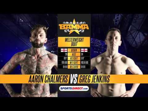 BAMMA 29: Aaron Chalmers vs Greg Jenkins