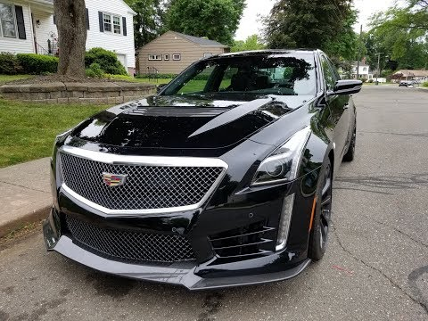 2018 CADILLAC CTS V LOOKAROUND, 640HP/600PDS TORQUE 8SPEED TRANNY ROADTEST VIDEO NEXT-106K SUPERCAR!