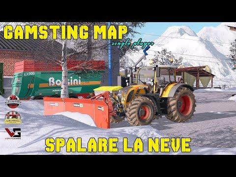 GAMSTING MAP SPALARE LA NEVE | ALEX FARMER FARMING SIMULATOR 17