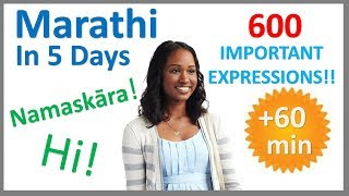 Learn Marathi in 5 Days - Conversation for Beginners