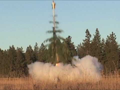 Christmas Tree Rocketry: The Art and Science of Holiday Recycling