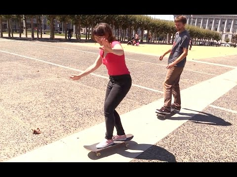 Awesome Mom Defies Stereotypes And Learns To Skateboard Like A Champ | HuffPost Life