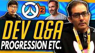 Overwatch 2 Progression, Future Patches & More  - Full Developer Q&A [Press Exclusive Uncut]